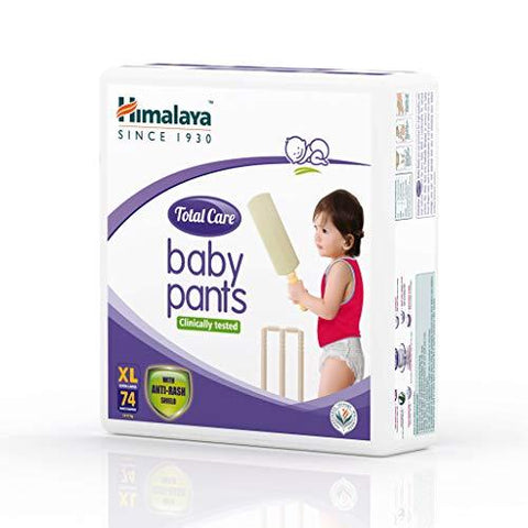 Himalaya Total Care Baby Pants Diapers, X Large, 74 Count-Baby Product-Himalaya-Helmetdon
