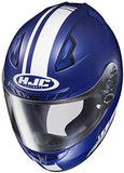 HJC CL-17 Streamline Full-Face Motorcycle Helmet (MC-2F, X-Small)-Automotive Parts and Accessories-HJC Helmets-Helmetdon