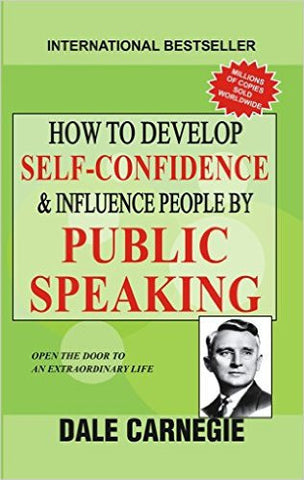 How to Develop Self Confidence and Influence People by Public Speaking-Books-TBHPD-Helmetdon