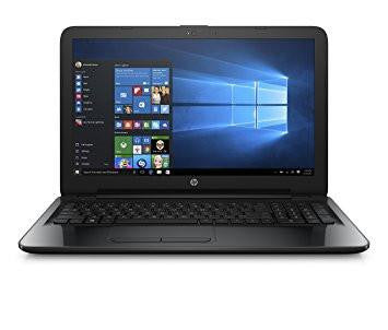 HP 15-bg007AU 15.6-inch Laptop (AMD A6-7310/4GB/500GB/Windows 10 Home/Integrated Graphics), Sparkling Black-Computers and Accessories-HP-Helmetdon