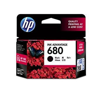 HP 680 Black Original Ink Advantage Cartridge-Computers and Accessories-HP-Helmetdon