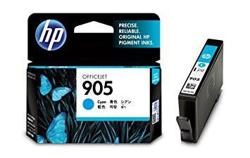 HP 905 T6L89AA InkJet Cartridge (Cyan)-Computers and Accessories-HP-Helmetdon