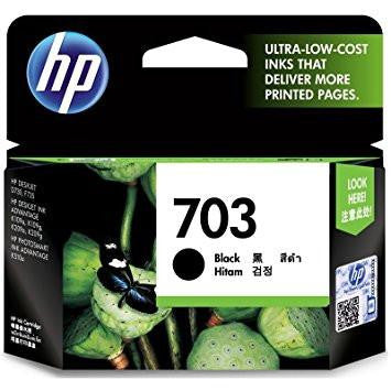 HP Deskjet 703 Ink Cartridge - Black-Computers and Accessories-HP-Helmetdon