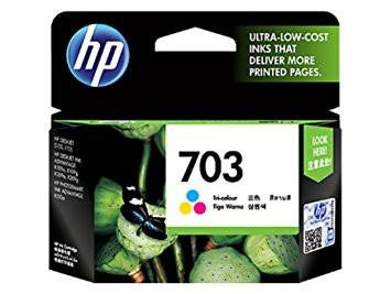 HP Deskjet 703 Ink Cartridge - Tri Color-Computers and Accessories-HP-Helmetdon