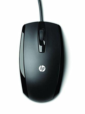 HP KY619AA 3 Button Optical Wired Mouse-Computers and Accessories-HP-Helmetdon