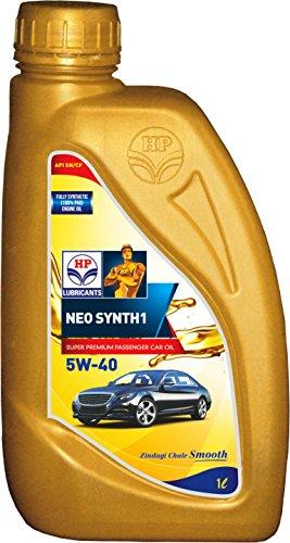 HP Lubricants NeoSynth1 5W-40 API SN Fully Synthetic (100% PAO) Premium  Engine Oil for Cars (1 L)