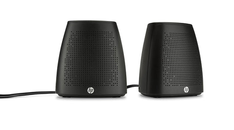 HP S3100 USB Speakers-Computers and Accessories-HP-Black-Helmetdon