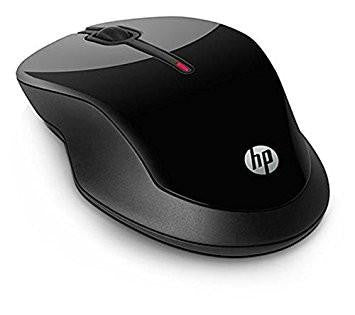 HP X3500 Wireless Mouse (Black)-Computers and Accessories-HP-Helmetdon
