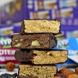 HYP Sugarfree Variety Pack - 8 Bars (2 Oats Brownie+ 2 Espresso+ 2 Berry Burst+ 2 Coconut Almond)-Health and Beauty-HYP-Helmetdon