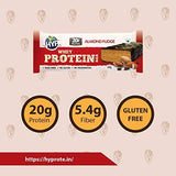 HYP Whey Protein Bar - 60 g (Pack of 6, Almond Fudge)-Health and Beauty-HYP-Helmetdon