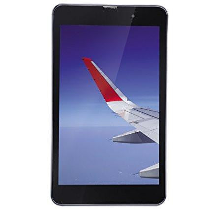 IBALL Slide Wings 4GP(Silver Chrome, 16GB ROM, 2GB RAM, 8 Inches with Wi-Fi+4G VOLTE)-Computers and Accessories-iBall-Helmetdon