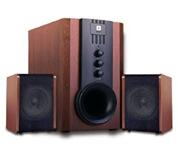 iBall Tarang 2.1 Full Wood Multimedia speaker-Computers and Accessories-iBall-Helmetdon