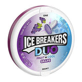 Ice Breakers Duo Fruit Plus Cool Mints 1.30 Ounce Pack of 8-Grocery-Helmet Don-Helmetdon