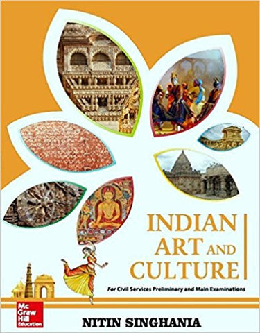 Indian Art and Culture-Books-UBSPD-Helmetdon