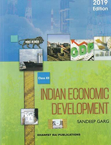 Indian Economic Development for Class 12 (2019-2020 Examination)-Book-Dhanpat Rai Publications-Helmetdon