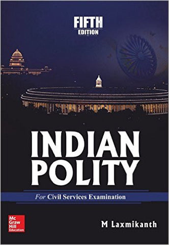 Indian Polity 5th Edition-Books-UBSPD-Helmetdon