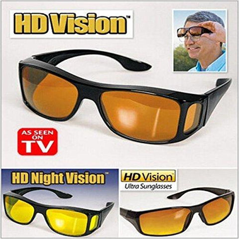 364accafec Inditradition HD Vision Wraparound Driving Glasses