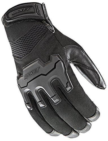 Joe Rocket Men's Eclipse Gloves (Black, XX-Large)-Joe Rocket-Helmetdon