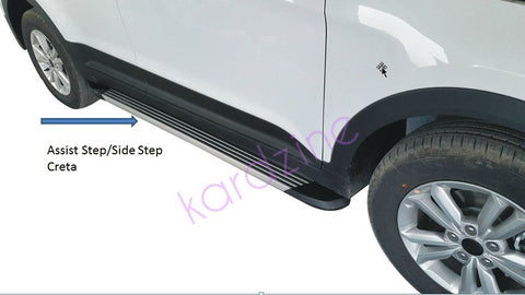 Kardzine Assist step For Hyundai Creta-car accessories-kardzine-Helmetdon
