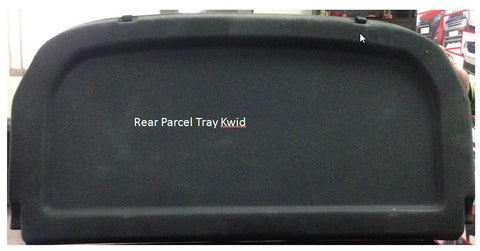 Kardzine Rear Parcel Tray for Renault Kwid-car accessories-kardzine-Helmetdon