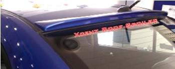 Kardzine Roof Spoiler For Hyundai Xcent ( Painted Black or Silver)-car accessories-kardzine-Helmetdon