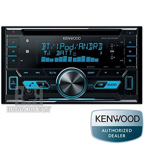 Kenwood DPX 5000BT Double DIN Car Stereo-Kenwood-Helmetdon