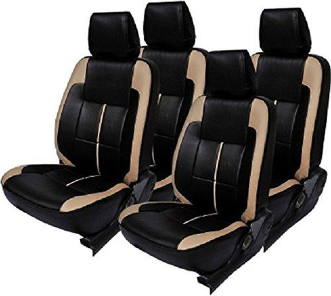 Khushal Leatherite Car Seat Cover For Maruti Wagon R Front And Back Seat Covers Set In Faux Leather Ks058Mwagonr-KHUSHAL-Helmetdon