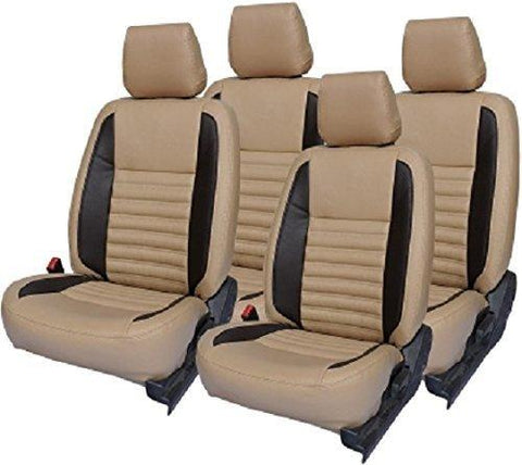 Khushal Leatherite Car Seat Covers Premium Quality Designer Front And Back Cover Set For Tata
