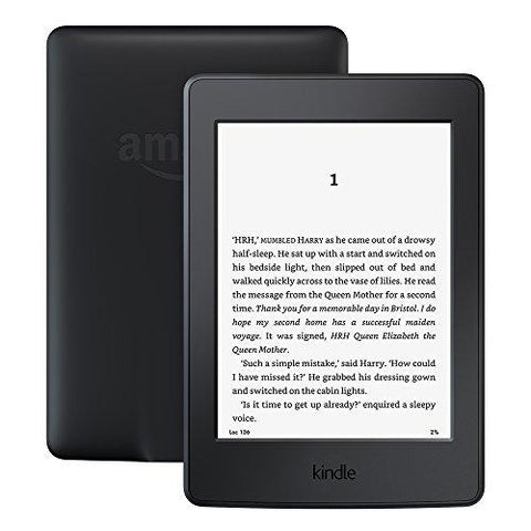 "Kindle Paperwhite, 6"" High Resolution Display (300 ppi) with Built-in Light, Wi-Fi-Amazon-Helmetdon"