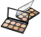 Kiss Beauty Highlighter and Contour 8 Shades Concealer Palette-Beauty-Kiss Beauty-Helmetdon