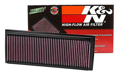 K&N 33-2865 High Performance Replacement Car Air Filter-K&N-Helmetdon