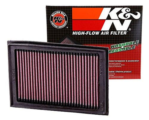 K&N KA-2508 High Performance Replacement Air Filter for Kawasaki EX250R/300-K&N-Helmetdon
