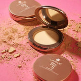 Lakme 9 to 5 Flawless Matte Complexion Compact, Melon, 8g-Beauty-Lakme-Helmetdon