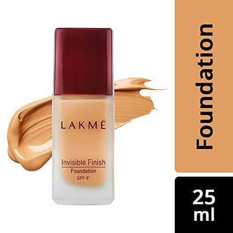 Lakme Invisible Finish SPF 8 Foundation, Shade 01, 25ml-Beauty-Lakme-Helmetdon