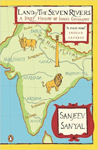 Land of the Seven Rivers: A Brief History of India's Geography-Books-TBHPD-Helmetdon