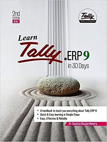 Learn Tally.ERP 9 in 30 days (A handbook to teach you everything about Tally.ERP 9)-Books-TBHPD-Helmetdon