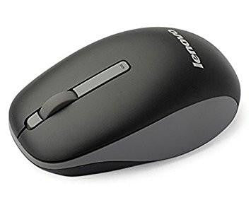 Lenovo N100 Wireless Mouse (Black)-Computers and Accessories-Lenovo-Helmetdon
