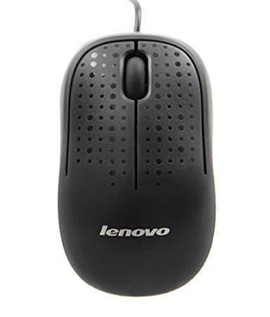 Lenovo USB optical mouse M110 Black-Computers and Accessories-Lenovo-Helmetdon