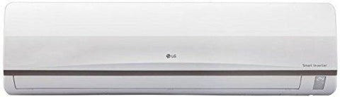 LG 1.0 Ton 3 Star Inverter Split AC (Copper, JS-Q12CPXD1, White)-Air conditioner-LG-Helmetdon