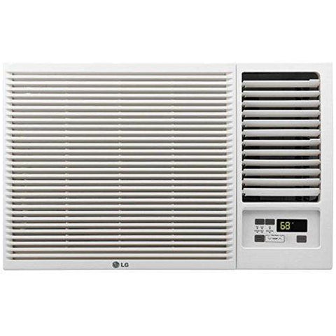 LG 7,500 BTU 115V Window-Mounted AIR Conditioner with 3,850 BTU Supplemental Heat Function-Air Conditioner-LG-Helmetdon