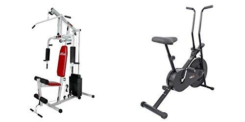 Lifeline fitness combo home gym hg 002 and exerciser cycle 102