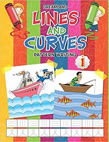 Lines and Curves (Pattern Writing) - Part 1-Books-TBHPD-Helmetdon