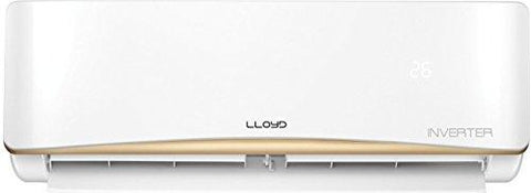 Lloyd 1 Ton 3 Star Inverter Split AC (Copper, LS13AI, White)-Lloyd-Helmetdon