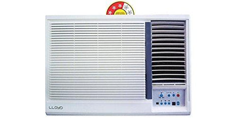Lloyd 1.5 Ton 3 Star Window AC (Copper, LW19A30PP, White)-Lloyd-Helmetdon