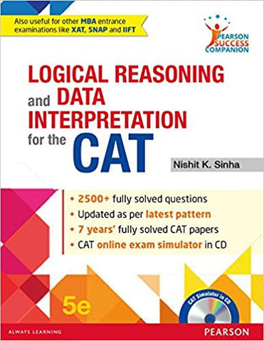 Logical Reasoning and Data Interpretation for the CAT-Books-TBHPD-Helmetdon