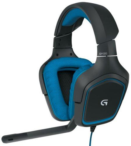 Logitech G430 Surround Sound Gaming Headset with Dolby 7.1 Technology for PC and Console-Personal Computer-Logitech-Helmetdon