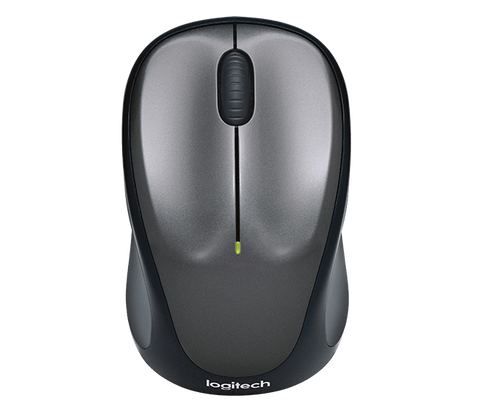 Logitech M235 Wireless Mouse-Computers and Accessories-Logitech-Grey-Helmetdon