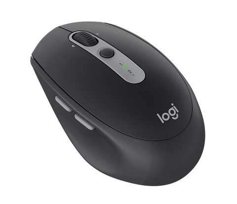 Logitech M590 Blue Tooth Mouse Multi-Device Silent Mouse-Computer Accessories-Logitech-Black-Helmetdon