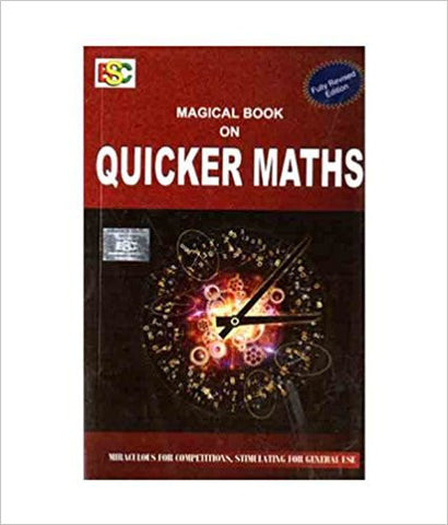 Magical Book on Quicker Maths-Books-TBHPD-Helmetdon