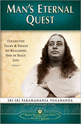 Man's Eternal Quest: Collected Talks and Essays on Realizing God in Daily Life: 1-Books-TBHPD-Helmetdon